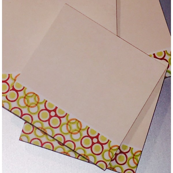 African Inspired Sticky Notes - Citrus