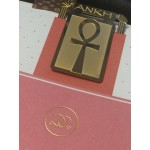 Ankh 24k Gold Plated Page Marker / Bookmark