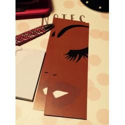 Brown Beauty   2x6 Bookmark