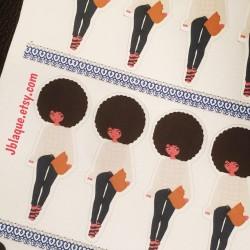 Casual Chic Diva - Sticker Sheets