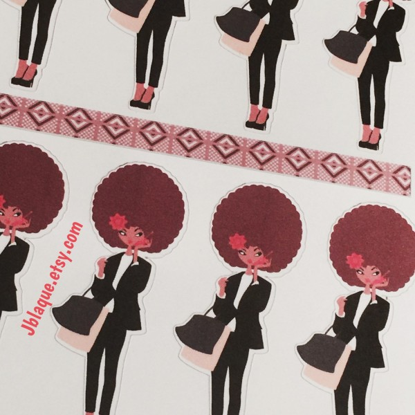 Cute & Chic Diva - Sticker Sheets