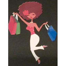 Sassy Shopper Sticker Sheet
