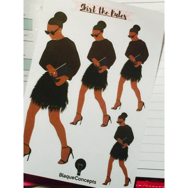 Beautifully Dressed Diva - Sticker Sheets