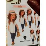 Planner Friend Belle - Sticker Sheet