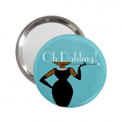 Oh Dahling! Blaque Beauty Handbag Mirror