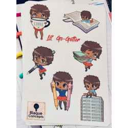 Lil' Go Getter- Sticker Sheets