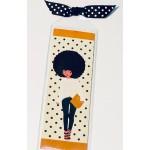 Casual Chic Fashionista  2x6 Bookmark