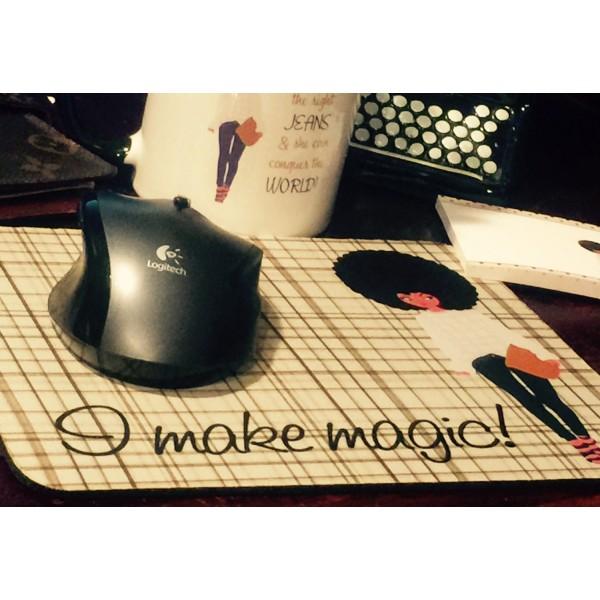 Casual Chic - I Make Magic! Mouse Pad