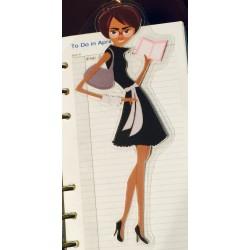 Diva Planner Friend D, Planner Nerd, Bookmark, Page Marker