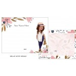 Personalized Flat Notes -Belle Design