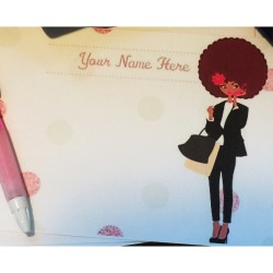Personalized Flat Notes - Cute & Chic Design