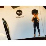 Personalized Flat Notes -Urban Diva Design