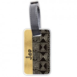 African Classic Personalized Bag/Luggage Tag