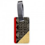 African Classic Twist  Personalized Bag/Luggage Tag