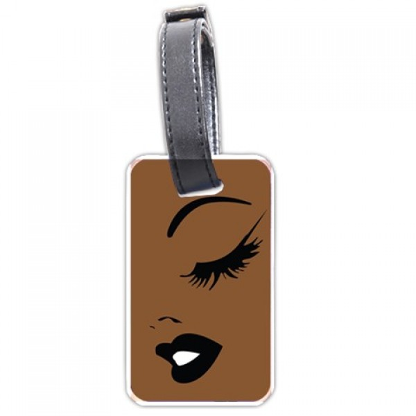 Brown Beauty Personalized Bag/Luggage Tag