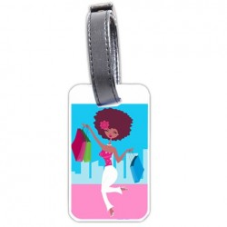 Shopping Diva Personalized Bag/Luggage Tag