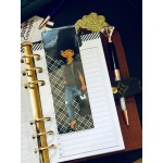 Natural Denim Diva 2x6 Bookmark Page Marker