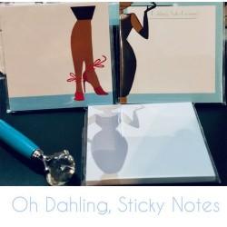 Oh, Dahling Diva Sticky Notes