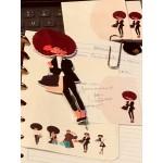 Planner Friend Fashionable Flat Pen/Bookmark