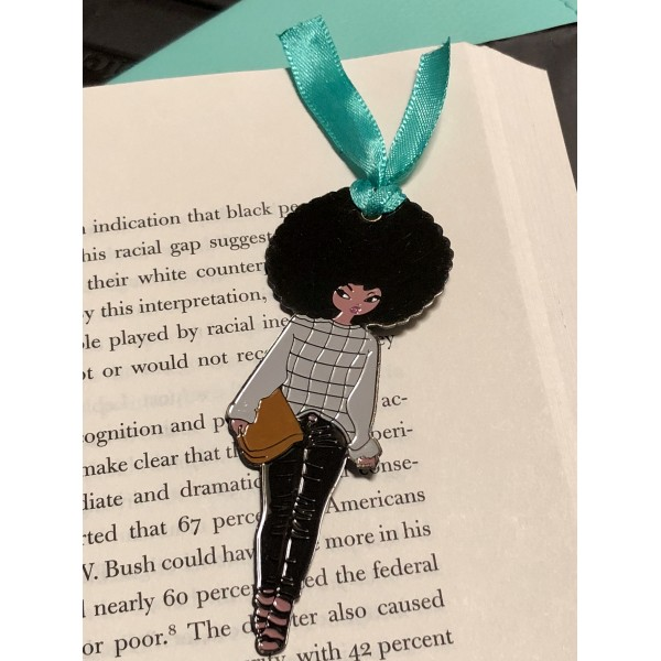 Casual & Chic Soft Enamel Bookmark / Page Marker
