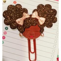 Sweet Girl Planner Clip, Bookmark